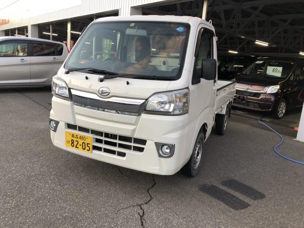 弘前の軽自動車専門店の軽トラ・除雪機セット画像