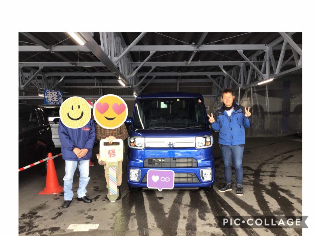 弘前店ウェイク納車式