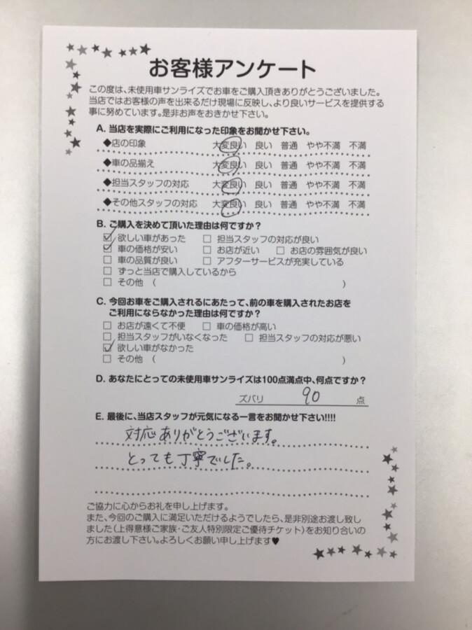 【八戸本店アンケート】